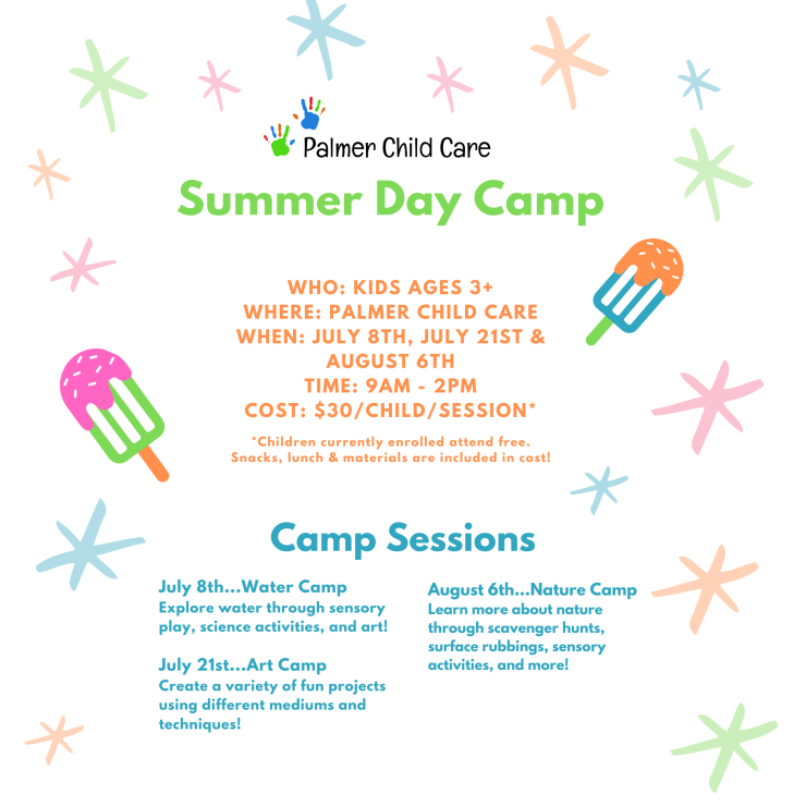 Summer Camp Graphic for Website